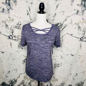 🧡3/$25🧡ACX Active Shirt Women Size Large Purple